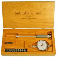 """Suburban 1.4-2.4"""" Range Dial Bore Gage Set - SMI-WC-DBGS5-0030"""