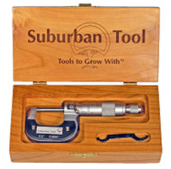 "Suburban Chrome-Plated Outside Micrometer 0-1"" Range - SMI-WC-OMC-0010"