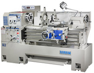 "Sharp Industries 12 Speeds & Variable Speed Precision Lathes, 16"" and 18"""
