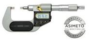 "Asimeto Digital Blade Micrometer 3-4"" Range - 7117041"
