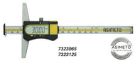 "Asimeto Digital Depth Caliper with Double Hook 0-6"" Range - 7323065"