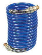 Coilhose Pneumatics Heavy-Duty Self-Storing Nylon Recoil Air Hoses