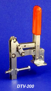 Knu-Vise Double Toggle Vertical Hold Down Clamp - DTV-200