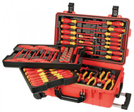 Wiha Insulated 80 Piece Set in Rolling Tool Case - 32800