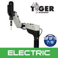 Roscamat Tiger Electric Tapping Arm, 220V, Vertical & Horizontal, 550 RPM Module - R04202F-550