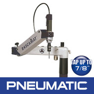 Roscamat Series 400 Pneumatic Tapping Arm, Vertical with Lubrication System - R41000F