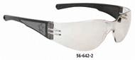 Crews Luminator Safety Glasses, Gray Lens - 56-641-4