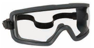 Crews GX1 Safety Goggles, Gray Lens - 56-682-8