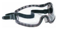 Crews Stryker Safety Goggles, Clear Lens, Smoke Frame - 56-685-1