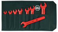 Wiha Insulated Open End Inch Wrench Set, 8 piece - 20192