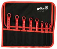 Wiha Insulated Deep Offset Wrench Set, 8 Piece Inch - 21096
