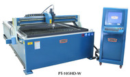 Baileigh 5' x 10' CNC Plasma Water Table Style - PT-105HD-W