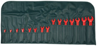 Wiha Insulated Open End Metric Wrench Set, 15 piece - 20091-1