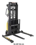 Vestil Combination Hand Pump/Electric Stacker Adjustable Forks - SE-HP-98-AA