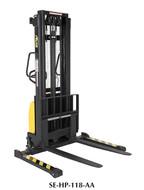 Vestil Combination Hand Pump/Electric Stacker Adjustable Forks - SE-HP-118-AA