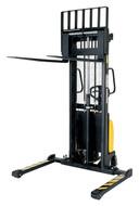 Vestil Combination Hand Pump/Electric Stacker Adjustable Forks - SE-HP-63-AA-AIR