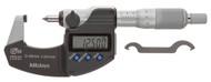 Mitutoyo Crimp Height Type Digital Micrometer, 0-20mm - 342-271-30