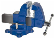 "Yost Vises 3-1/2"" Combination Pipe and Bench Vise, Swivel Base - 31C"