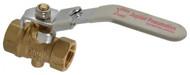"""Jupiter Pneumatics 3/8"""" Pipe, Brass Full Port Ball Valve 9938036969JP - 992-968-0"""