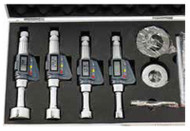 "Precise Electronic 3 Point Internal Micrometer Set, 0.236-0.472""/6-12mm - 303-263"