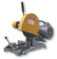 """Kalamazoo K10B 10"""" Abrasive Chop Saw, 3 HP, 1-phase 220V w/ Stand & Foot Operated Chain Vise - K10SF-1-220V"""
