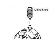 "Mitutoyo Spindle Lifting Knob, 50.8mm/2"" - 21EZA200"