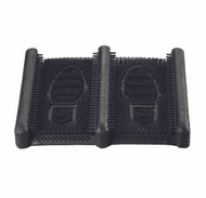 Wearwell The Mud Chucker Black w/ Pliable Scraping Rubber Fingers Boxed, 2 3/16in x 12 3/8in x 15 1/4in - 229.2.2x12.4x15.25