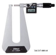 "Fowler 6"" Deep Throat Depth Electronic Micrometer - 54-517-001-0"