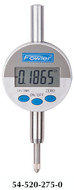 Fowler Indi-X Blue Small Face Electronic Indicator - 54-520-275-0