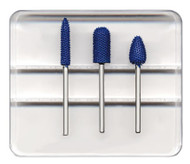 Foredom 3 Piece Fine Grit Typhoon Kit with 3/32″ Shanks - AKHK83