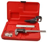 SPI Electronic Tool Kit, 3pc. Caliper, Micrometer & Rule - 13-988-1
