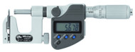 "Mitutoyo Uni-Mike Digital Micrometer, Interchangeable Anvil Type, 1-2""/25.4-50.8mm w/ Friction Thimble - 317-352-30"