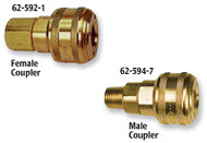 "Coilhose Pneumatics Automatic ""One Handed"" Couplers"