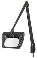 "Dazor LED Stretchview 42"" Pivot Base Magnifier, ESD-Safe, 3-diopter, 1.75X - LMR300-ES-EB"