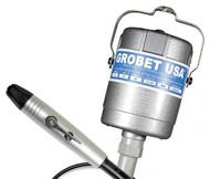 Grobet Flexible Shaft Motor, C300, 1/10Hp, 220V Euro - 34.301XEURO