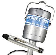 """Grobet Flexible Shaft Motor w/ 3/32"""" Quick Change Handpiece, S300, 1/8HP - 34.625CE"""