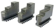 Precise 3 Piece Steel Hard External Jaw Sets