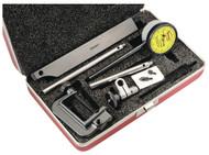Starrett Back Plunger Dial Indicator, 5mm Range - 651MA1Z