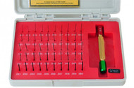 Precise Black Oxide Steel Pin Gage Sets w/NIST Traceable Certificate