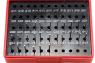 Precise Class ZZ Steel Pin Gage Sets