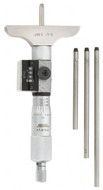 """SPI Digit Depth Micrometer, 0-4"""" Range, 2-1/2"""" Base Width - 17-819-4"""
