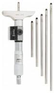 """SPI Digit Depth Micrometer, 0-6"""" Range, 2-1/2"""" Base Width - 17-820-2"""