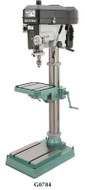 """Grizzly 15"""" Heavy-Duty Floor Drill Presses"""