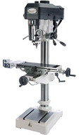 """Grizzly 16"""" Drill Press w/Cross-Slide Table and Power Feed - G0810"""