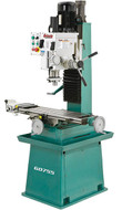 Grizzly Heavy-Duty Mill/Drill with Stand and Power Feed - G0755