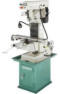 """Grizzly 6"""" x 26"""" Vertical Variable-Speed Milling Machine w/ Power Feed - G0822"""