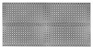 Kennedy 4-Panel VTC Toolboard Set w/ 60pc. Toolholder Set, Utility Gray - 50004UGY
