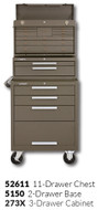 "Kennedy 273X 27"" 3-Drawer Roller Cabinet Combinations"