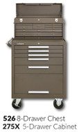"Kennedy 275X 27"" 5-Drawer Roller Cabinet Combinations"