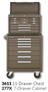 "Kennedy 277X 27"" 7-Drawer Roller Cabinet Combinations"